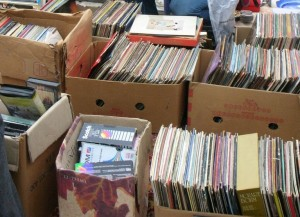 Now THIS is a flea market!  Too bad nothing like this was there.