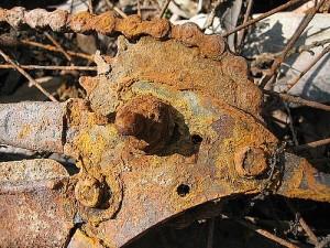 Rusty Bike Gear