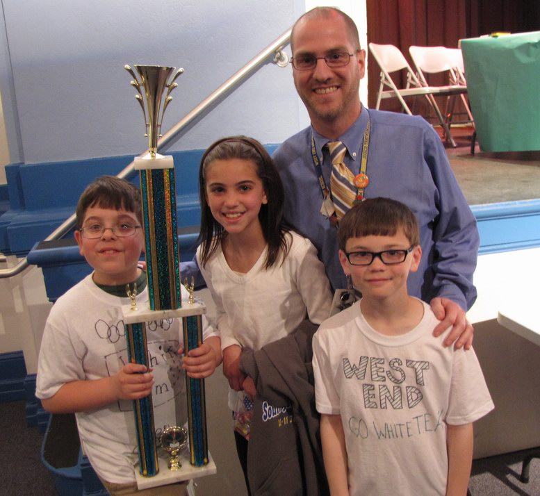 Ben Cotton's Team Wins Math Olympics
